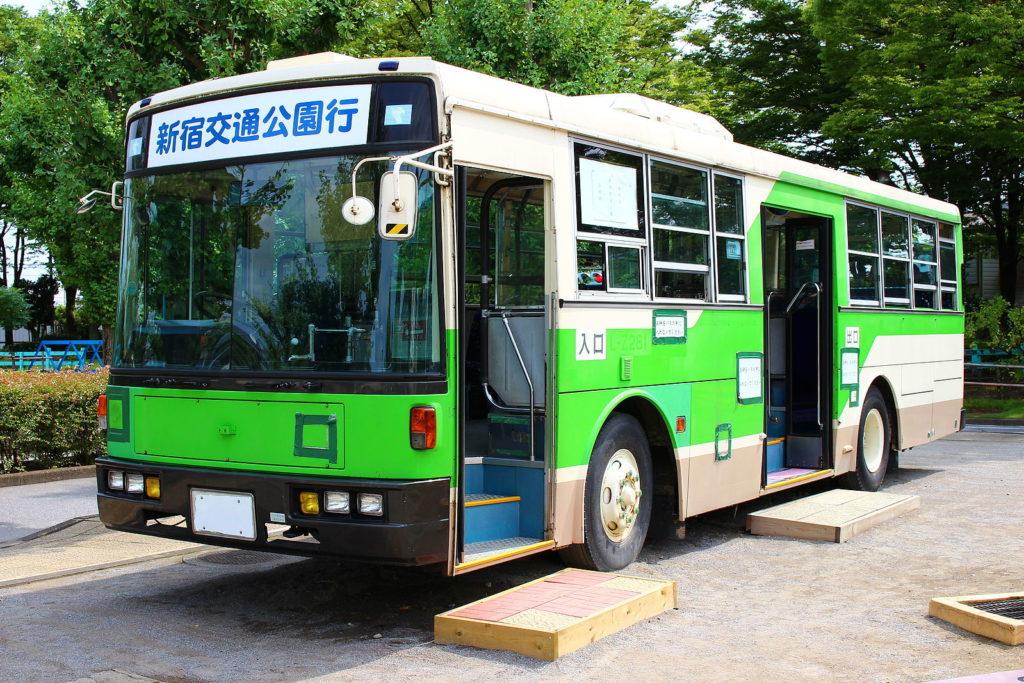 新宿交通公園 バス