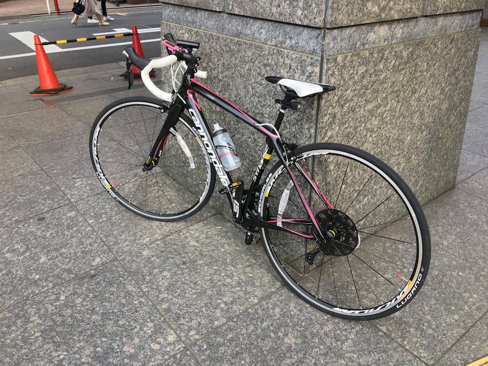 自転車通勤 15km以上はロードバイク