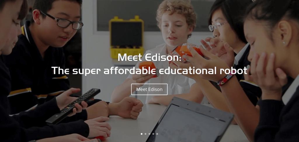 プログラミングおもちゃ Edison