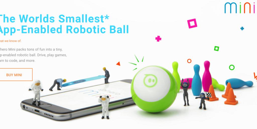 プログラミングおもちゃ Sphero mini