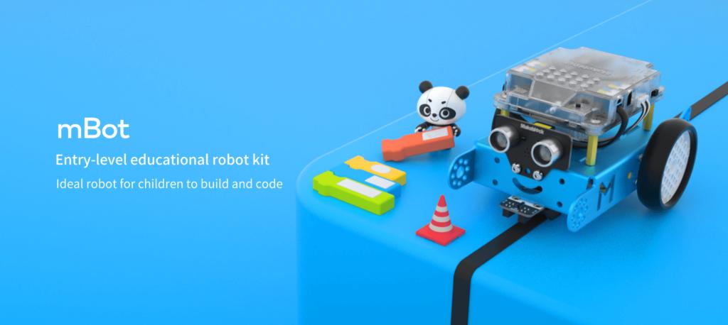 プログラミングロボット「Makeblock」
