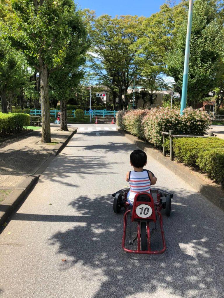 新宿交通公園 ゴーカート