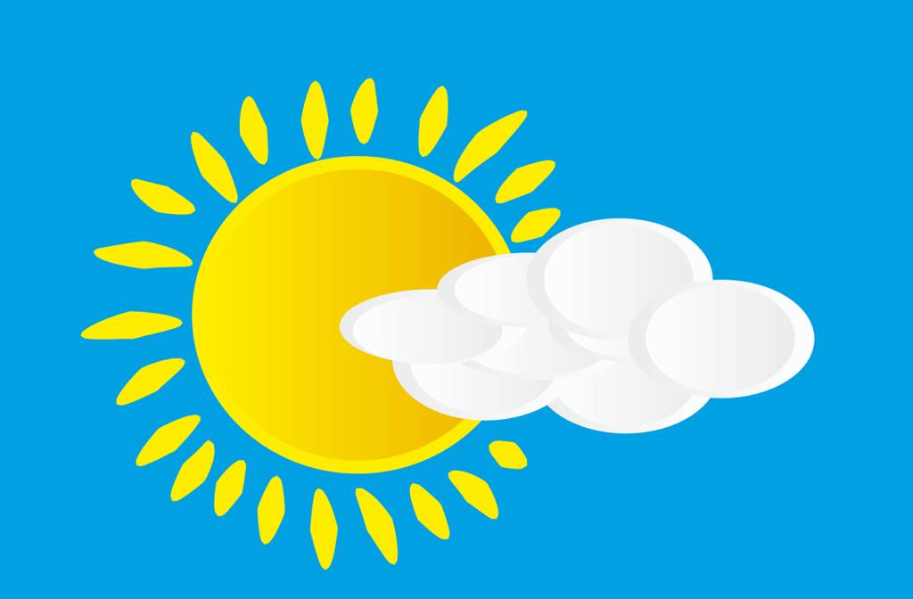 天気予報を確認する