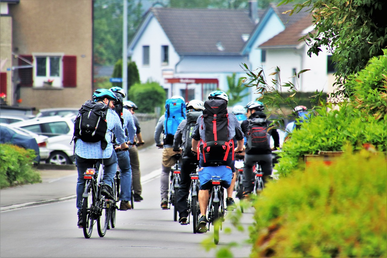 自転車通勤 バッグ