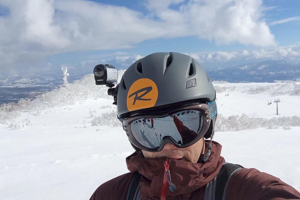 自転車 カメラ ヘルメット