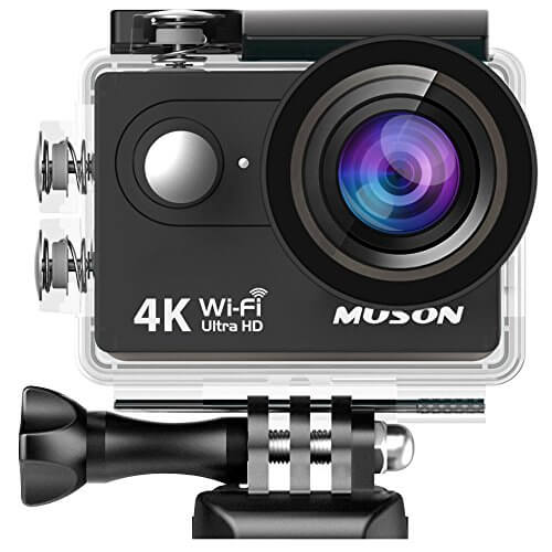 MUSON 4Kアクションカメラ