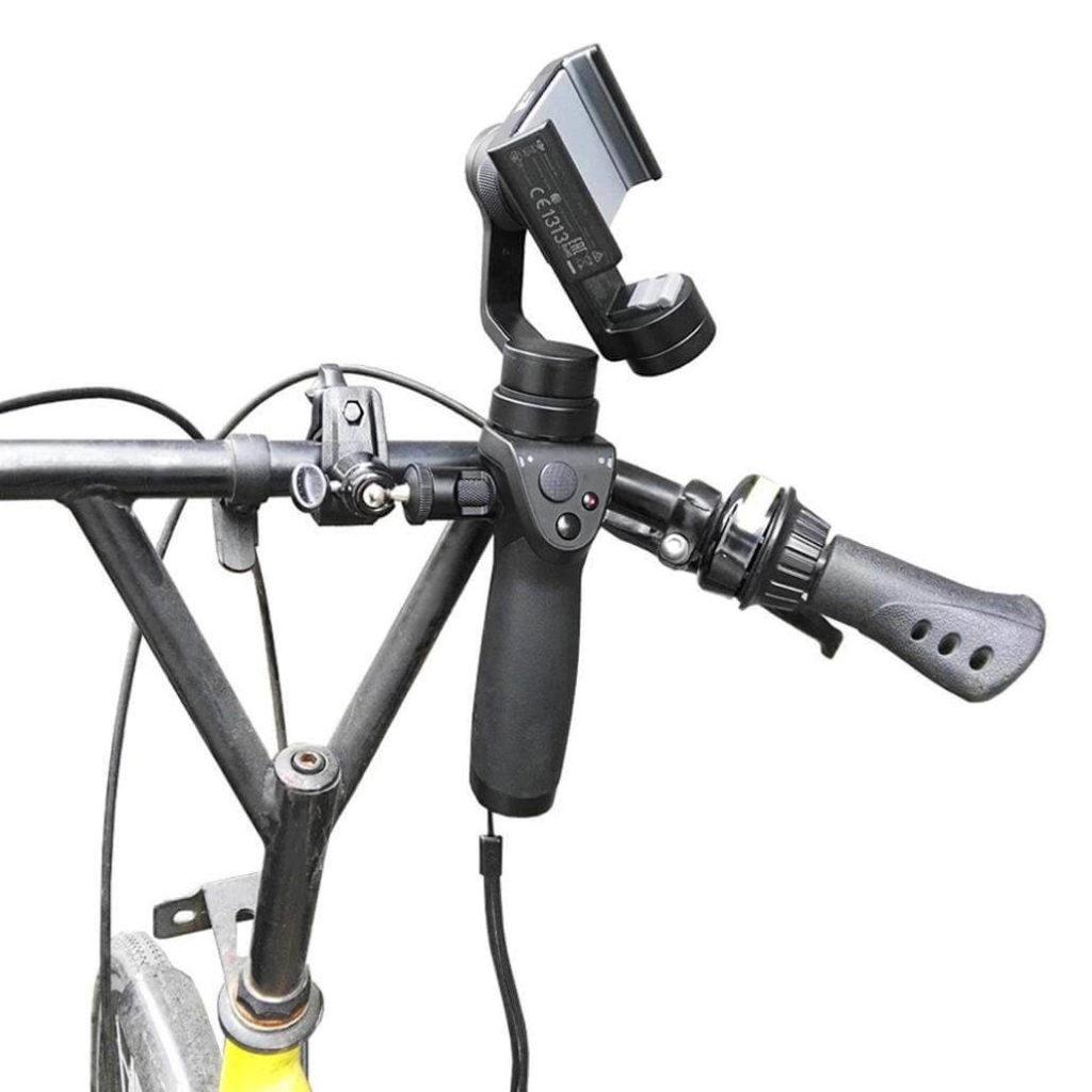 自転車 カメラ スタビライザー
