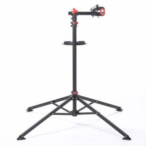 サンワダイレクト 自転車メンテナンススタンド 高さ調節 角度調節 工具トレー付 ディスプレイスタンド 800-BYWST1