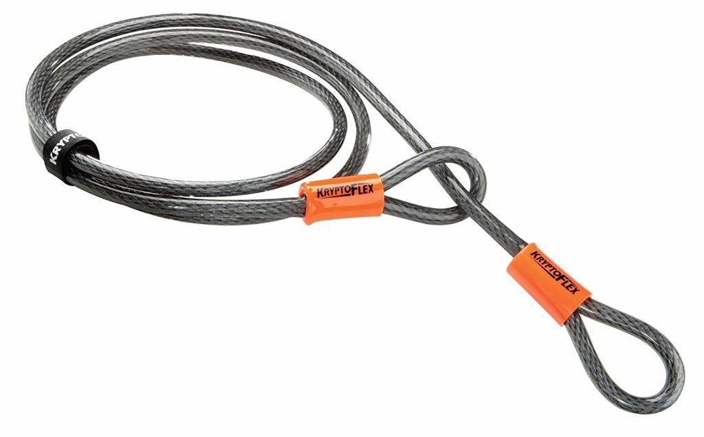KRYPTONITE(クリプトナイト) ロック クリプトフレックス ケーブル 1,200mm LKW12600