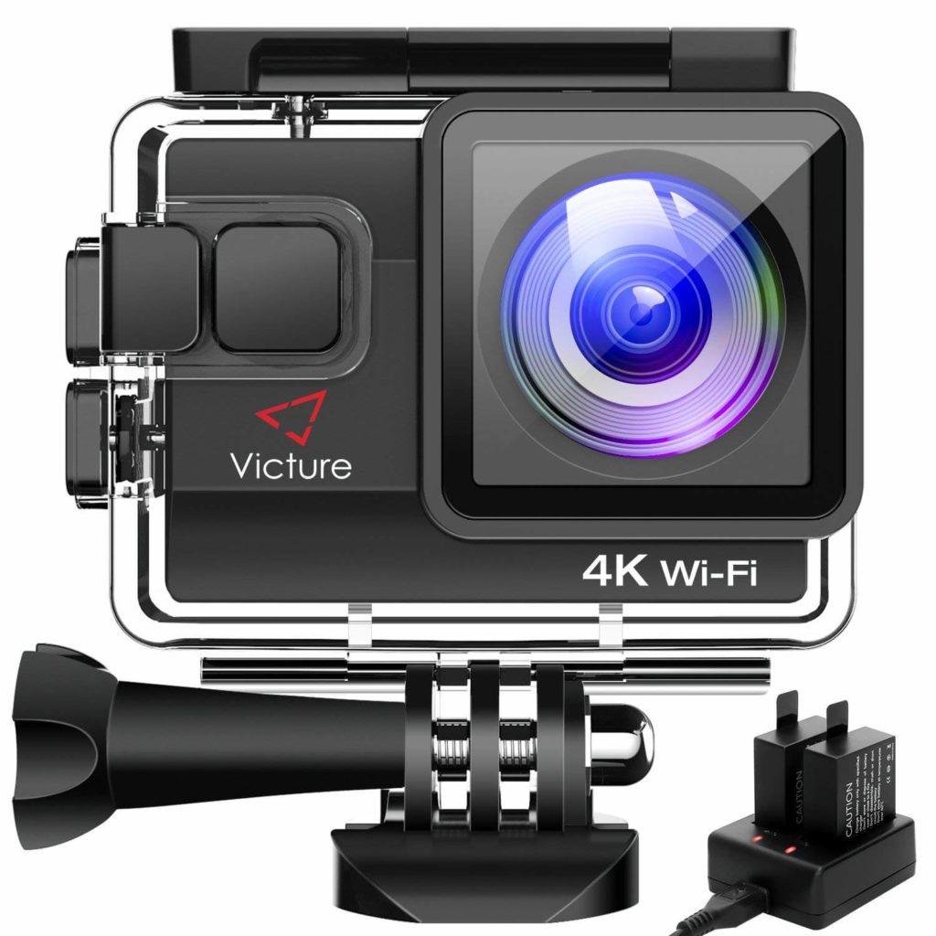 Victure 4K アクションカメラ AC800