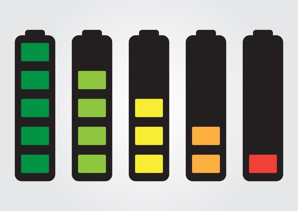 自転車ライト バッテリー