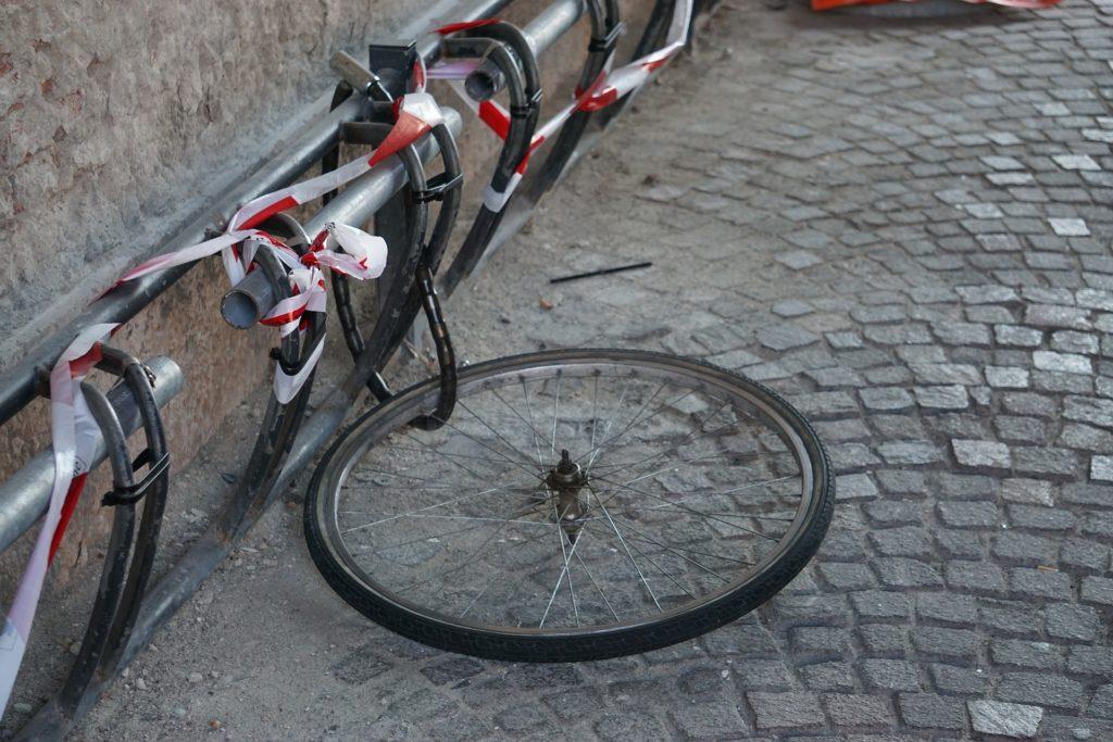 自転車 盗難事件