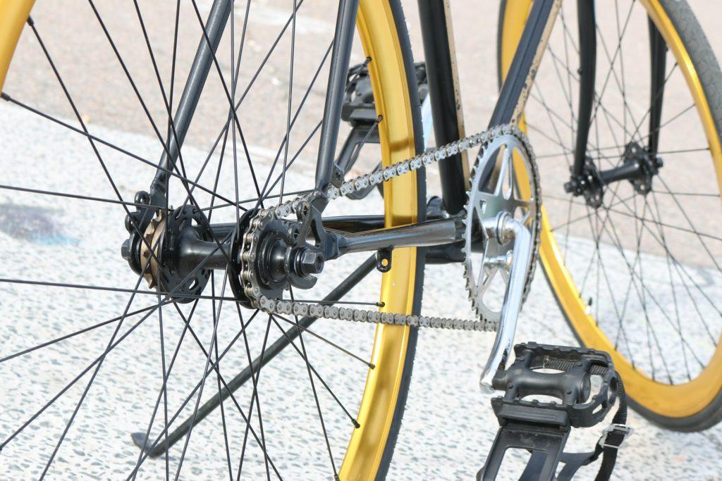 ギアがない自転車