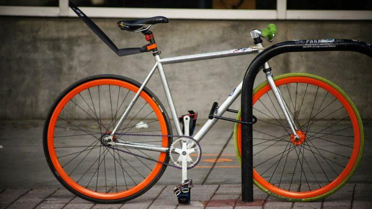 自転車 ワイヤーロック