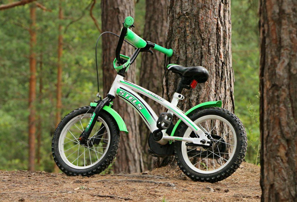 幼児向け自転車 反射板