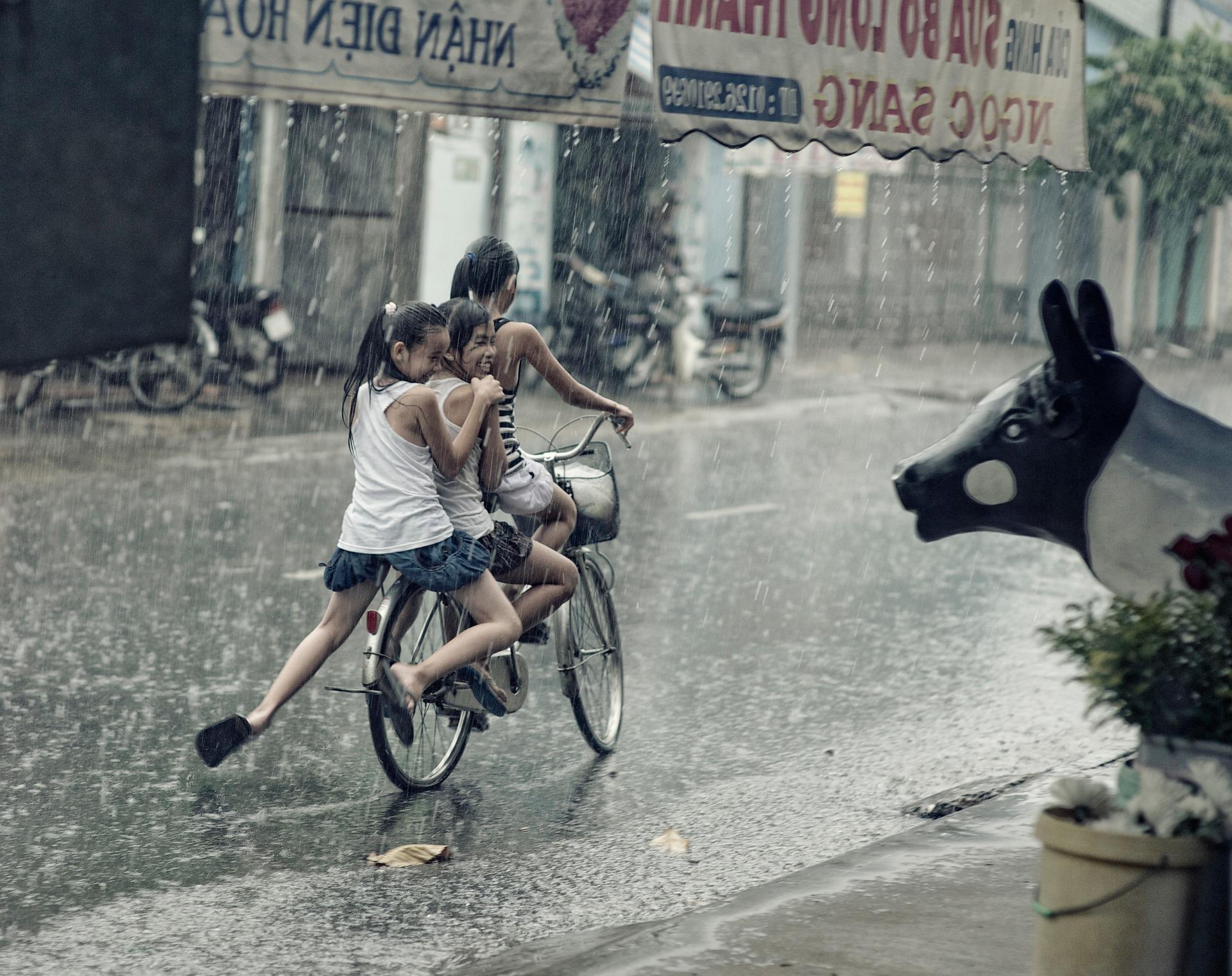 自転車 雨の日 ウェットオイル