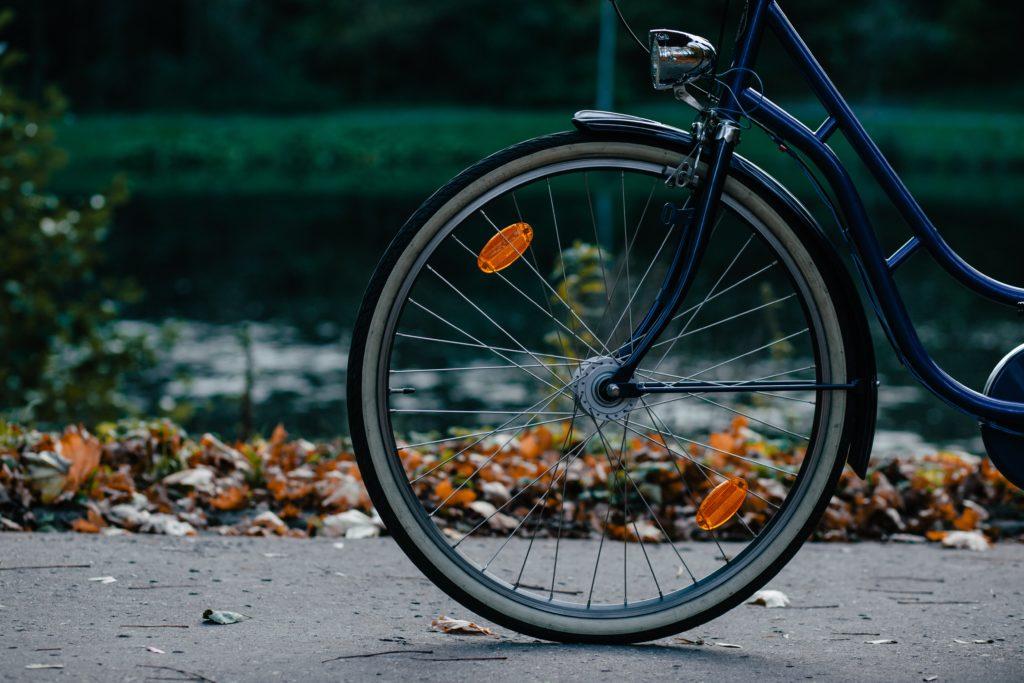 自転車 反射板 取り付け位置