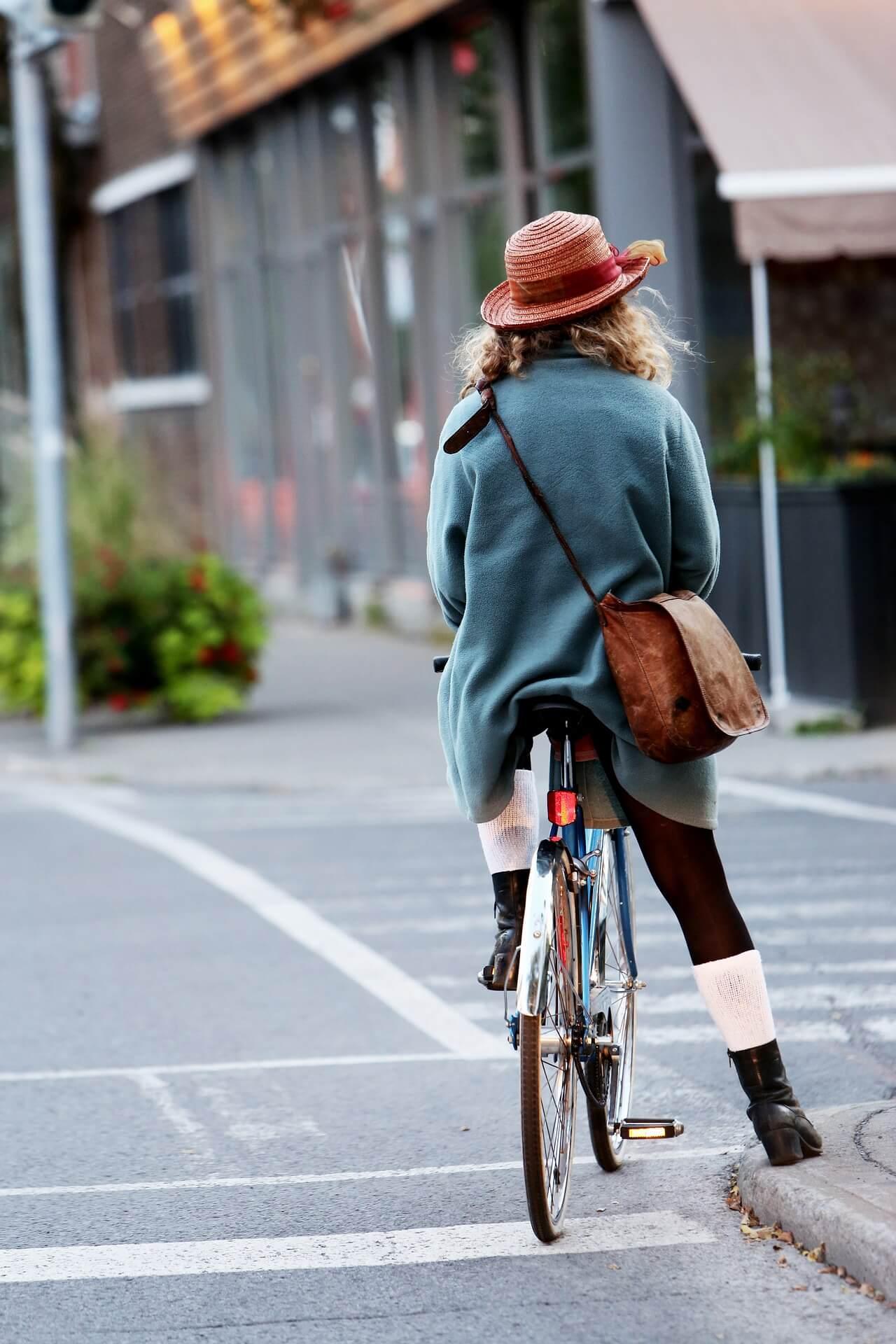 自転車 帽子