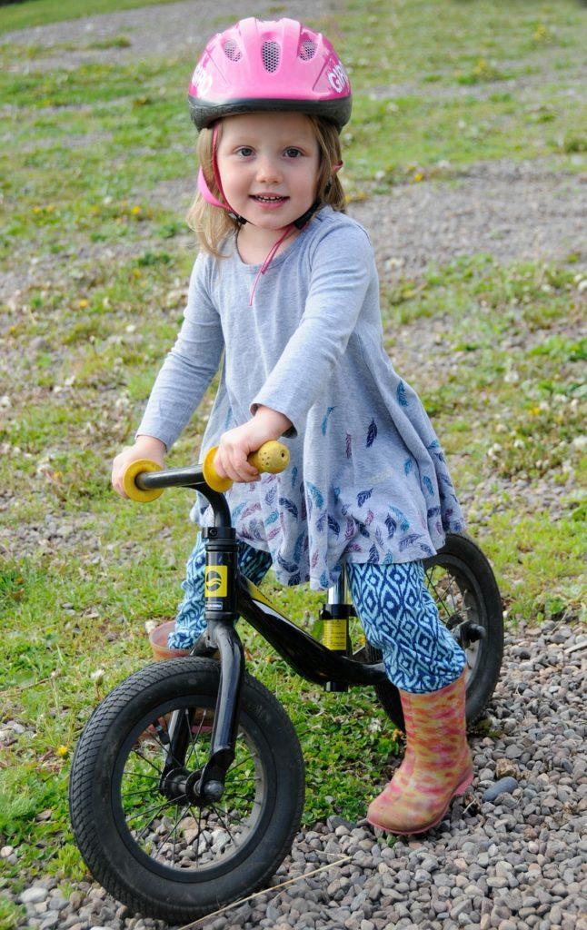 自転車 教え方 コツ
