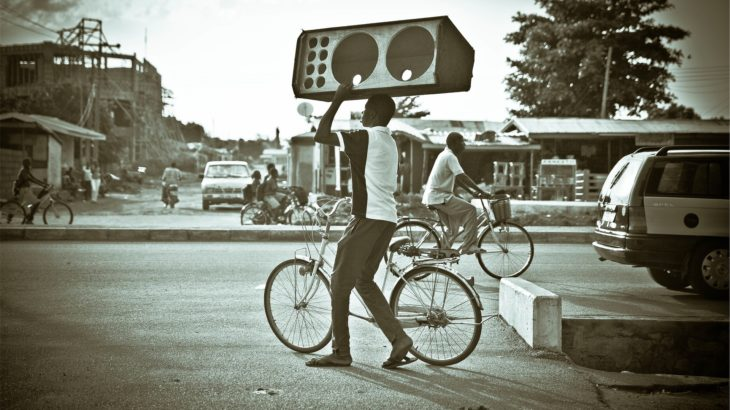 自転車 スピーカー