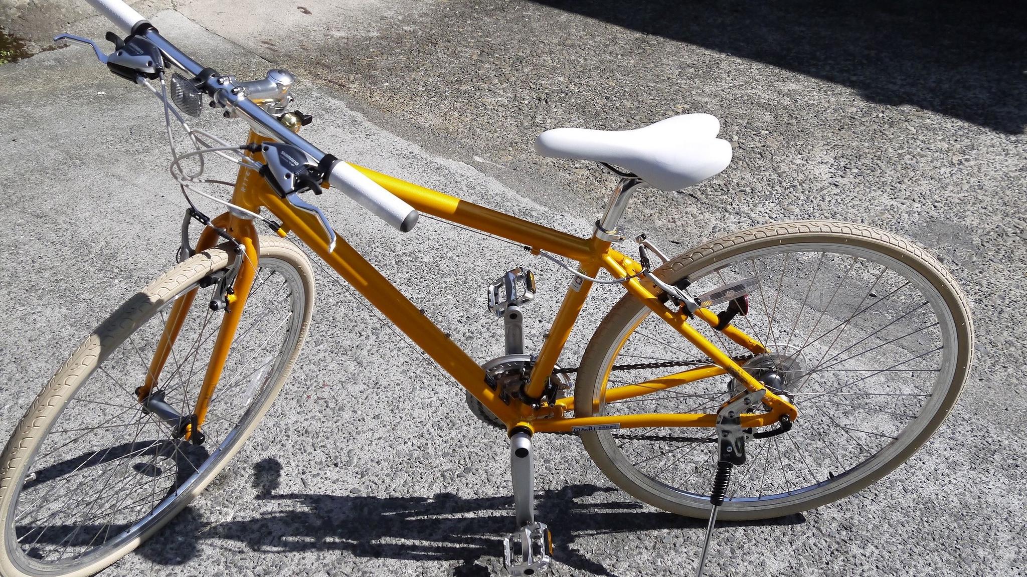 クロスバイク 平均速度
