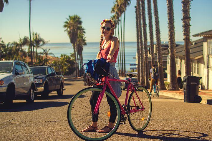 おしゃれ 自転車 人気