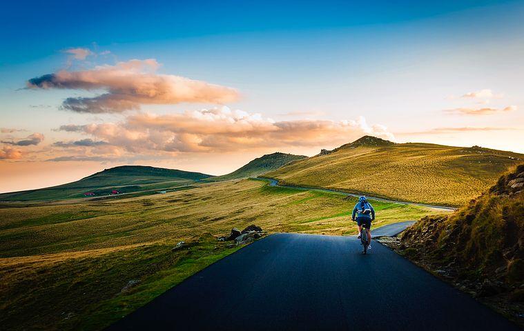 自転車 旅 自然