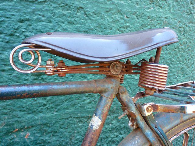 自転車 サドル 水平