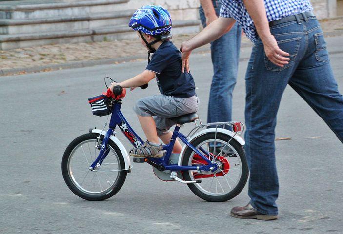 自転車 サドル高さ 補助輪なし自転車