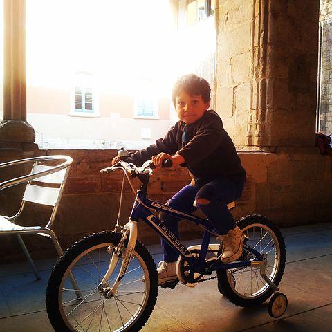 自転車 サドル高さ 補助輪自転車
