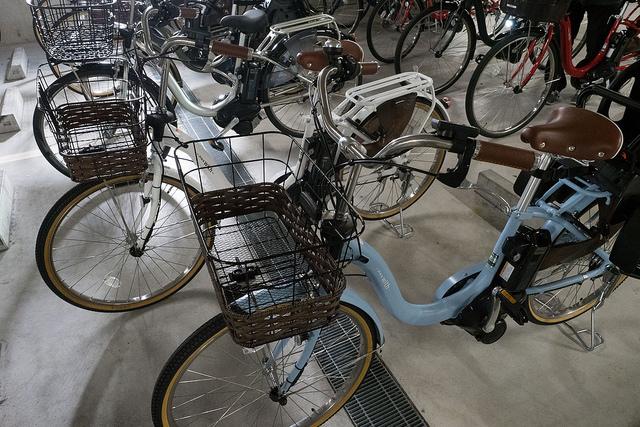 電動アシスト付き自転車 平均速度