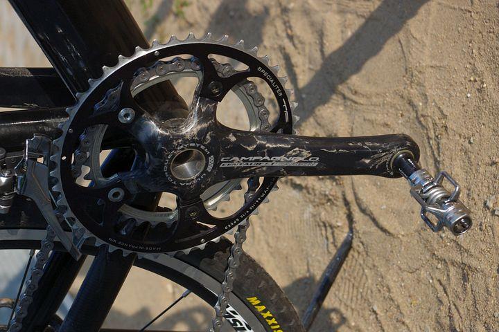 自転車 クランク 交換