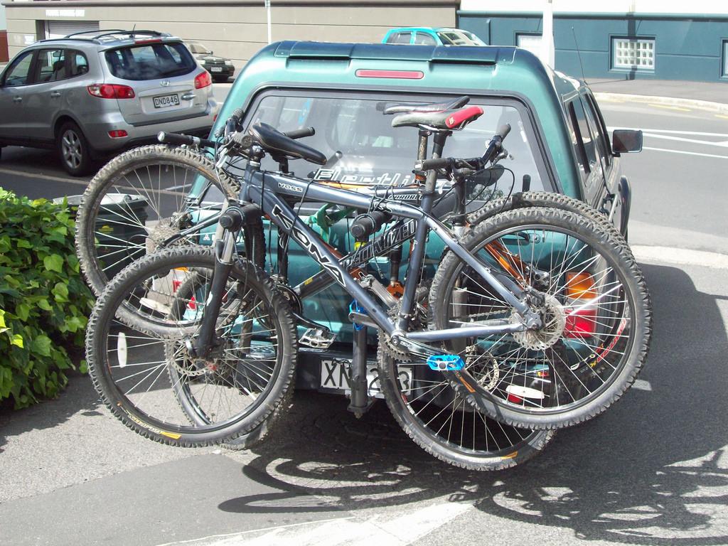 自転車 車載 後部