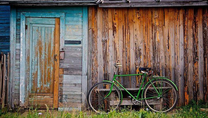 自転車 収納 物置
