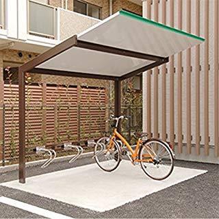 自転車 収納 テラス