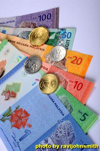 マレーシア紙幣・硬貨