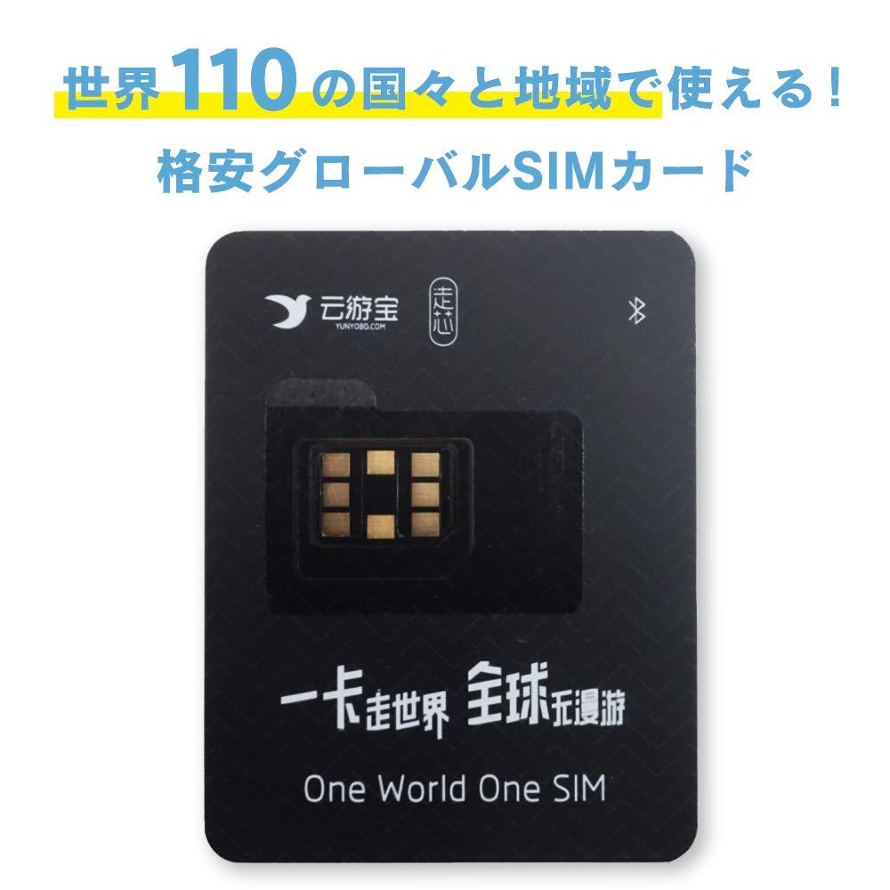 YUNYOBO 110か国対応SIMカード