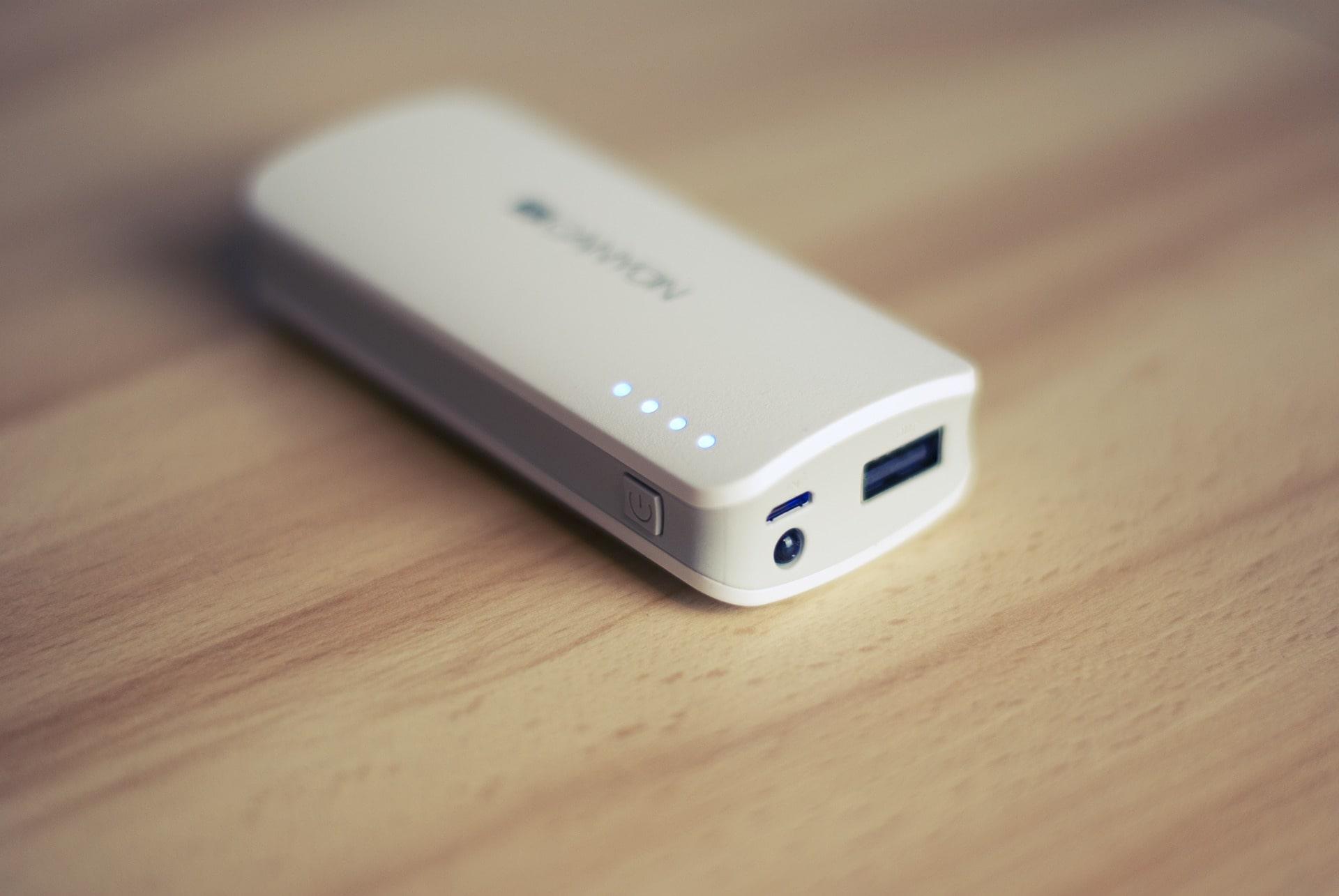 旅行必需品 モバイルバッテリー